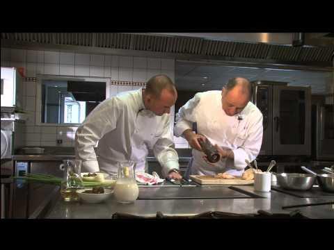 "Cuisine Culture™ How to prepare Chicken Foie Gras by 3 Star Michelin Chef ""Marc Haeberlin"""