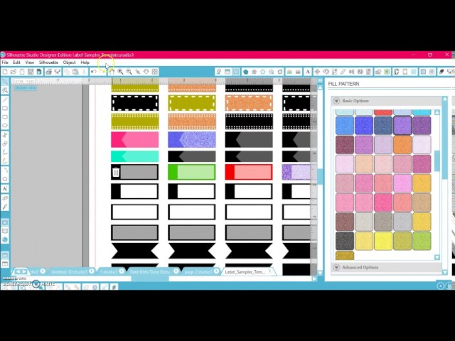 14 Styles of Labels! How to: DIY Planner Sticker Template ...