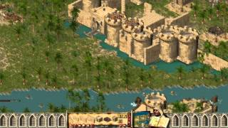Stronghold Crusader - Multiplayer 1vs1 Deathmatch [1080p/HD Patch]