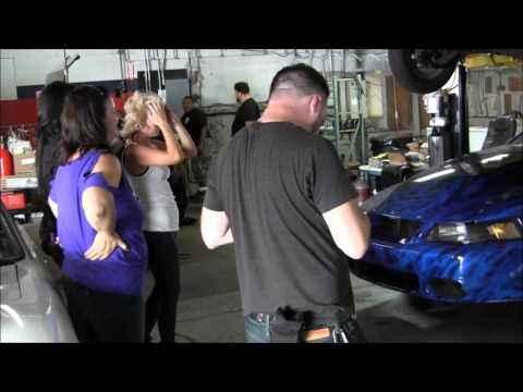 CAR CRAFT MAGAZINE AT CPR BEHIND THE SCENE