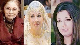 شاهد زواج نجاة الصغيرة وهى قاصر وحجابها وحقيقة صورتها وهى كبيرة..!!