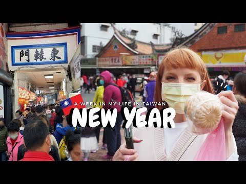 A Week in my Life in Taiwan during New Year 🇹🇼🧧 [我在台灣的一個星期]