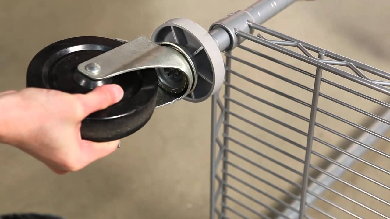 Wire Shelving Casters | Wire Shelving Caster Assembly Youtube