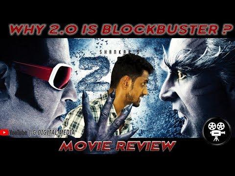 2point0 Movie Review by common man- rajinikanth,Akshay kumar,Amy jackson