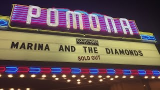 MARINA AND THE DIAMONDS NEON NATURE TOUR POMONA CONCERT 2015!