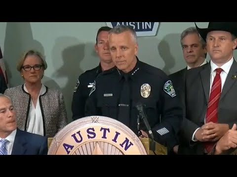 Austin police say bombing suspect recorded 25-minute confession