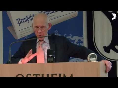 Wilhelm von Gottberg: Die Bedeutung des Mauerfalls für (die) Ostpreußen und die Vertriebenen