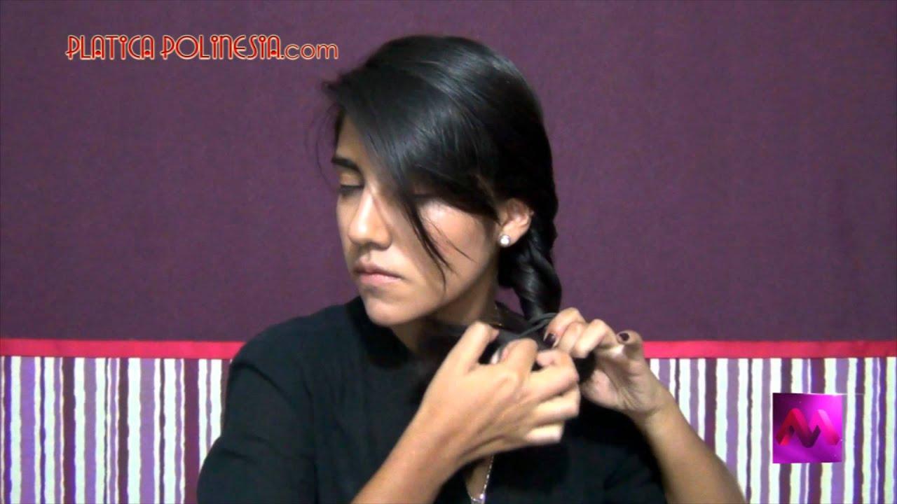 5 peinados fáciles y rápidos para cabello mediano y largo | Tutoral ...