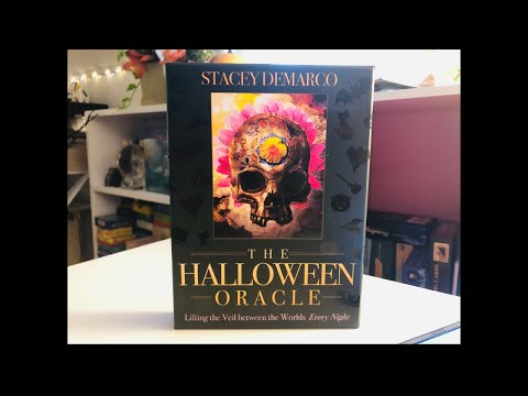 Powerful Messages from the Halloween Oracle Card Messages