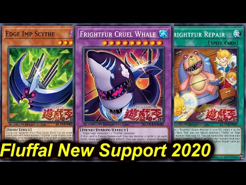 【YGOPRO】FLUFFAL FRIGHTFUR CRUEL WHALE DECK 2020 - NEW SUPPORT!! MASTER RULE 5