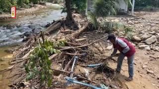Kerja pulih sungai di Yan dijangka siap November