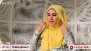 Tutorial Hijab a la Marini Zumarnis part 4