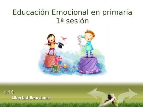 Taller de Educación Emocional en Primaria para alumnos