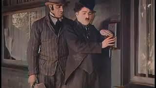 Police (1916) - Charlie Chaplin - color (Laurel & Hardy)