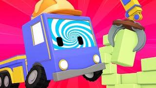 Kleinen Trucks   Hypnose - Lerne mit den kleinen Trucks 👶 🚚 Lehrreiche Cartoons für Kinder