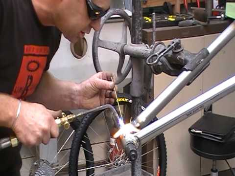 frame welding kiwibikes bicycle bike frame buildingmod