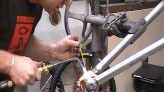 Frame welding - Kiwibikes Bicycle / Bike Frame-building.MOD