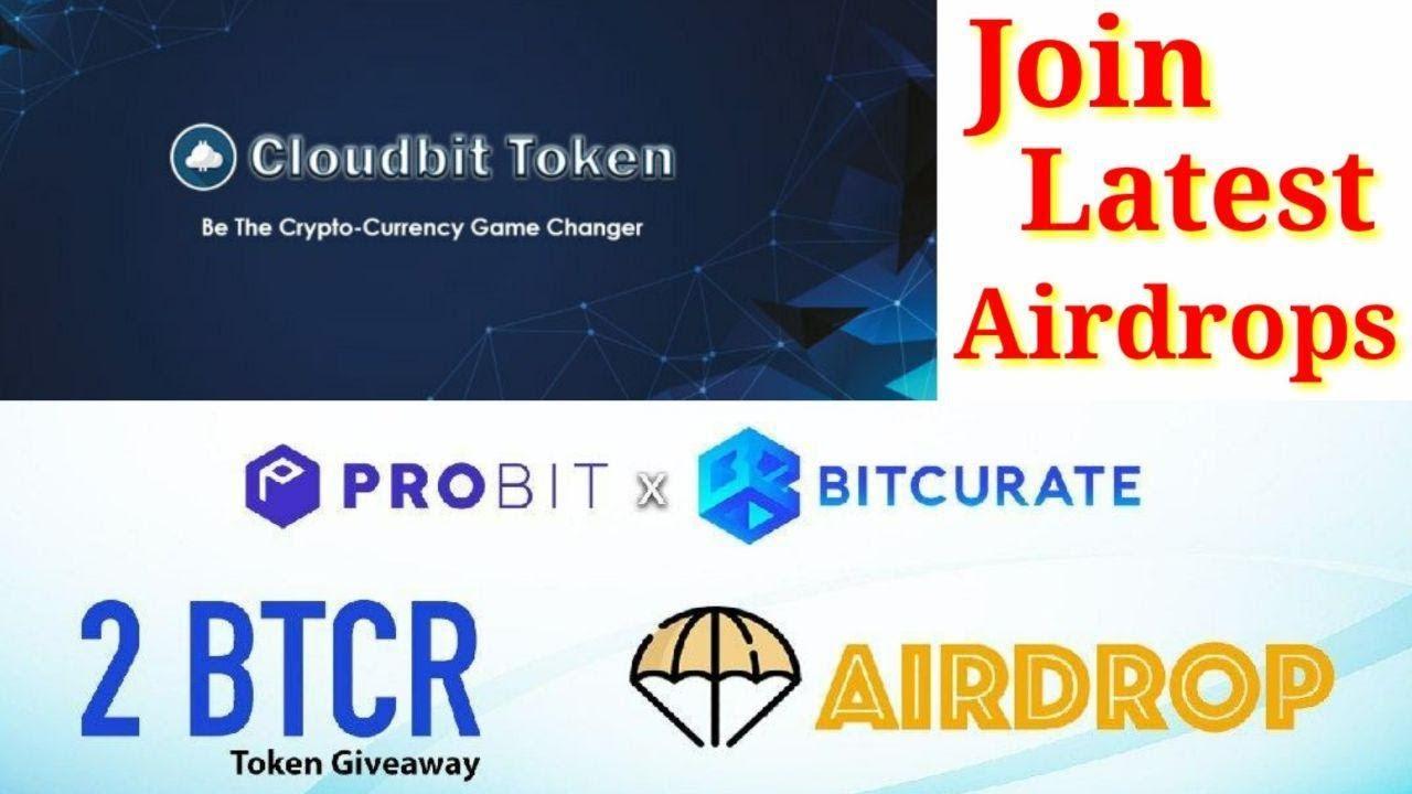Probit Exchange Airdrop Event Cloudbit Token & BTCR Token Airdrop 7