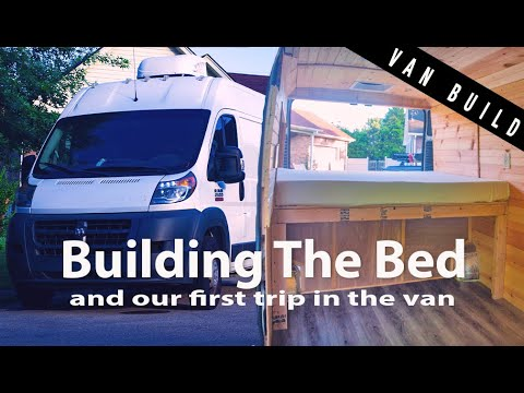 van-conversion-vlog-|-building-the-bed-frame---installing-the-swivel-seat