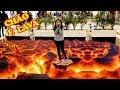 O CHÃO É LAVA (The Floor is Lava Challenge)   Luluca