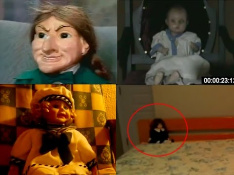 Top 20 Haunted Dolls Caught On Tape  And Camera