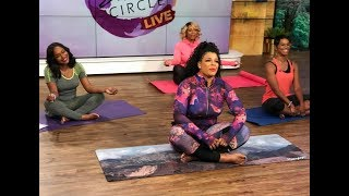 Sister Circle Live | Fresh Fitness Yoga with Syleena Johnson