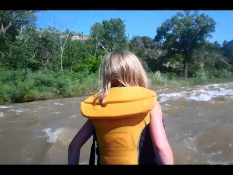Durango Colorado Vacation 2015 rafting