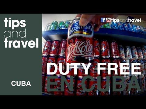 Duty Free en Cuba