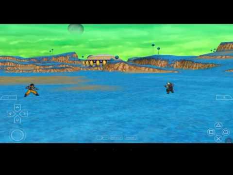 Dragon ball z ttt gameplay ios ppsspp