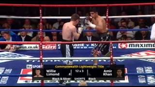 Amir Khan vs Willie Limond