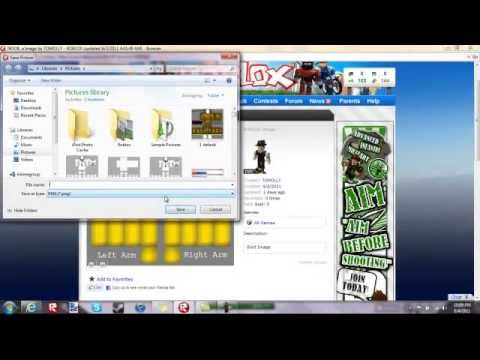 How to copy shirts pants and t shirts on roblox without for Roblox how to copy shirts