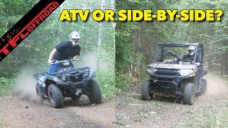 Compared: ATV vs Side-by-Side - Which is The Better Choice For You?