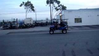 Wicked Carts Test Run Honda Powered EZ-GO Golf Cart