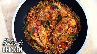 Braised Balsamic Vinegar Chicken Recipe