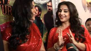 Bollywood World - Vidya And Sakshi Tanwar Oo Lala Dance For Bade Achhe Lagte Hain - Latest Film Rele