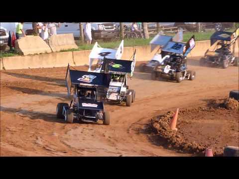 Shippensburg Speedway Heat Race 6 8 2013