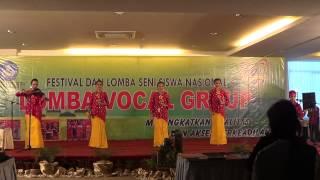Vocal Group Pawitikra DIY FLS2N 2013 - Merah Putih(Arr.Elisabeth Esti Ratna) dan Montor-montor Cilik
