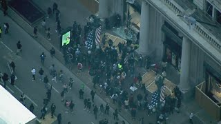 Protesters loot Macy's on State Street