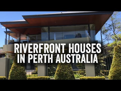 Riverfront Houses In Perth Australia