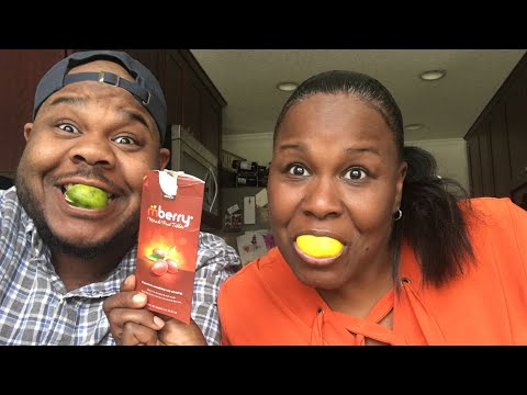 THE MIRACLE BERRY TASTE TEST!
