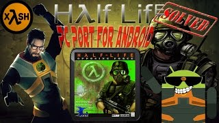 Half Life: Opposing Forces on Android Fixed with Xash3D (Note 2)
