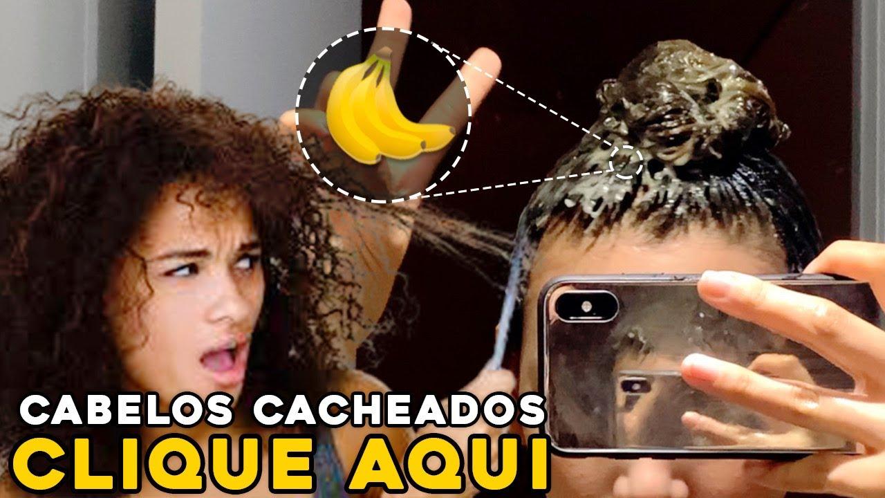 바나나 천연팩🍌(실패없이 하는 법) , 곱슬머리 관리법