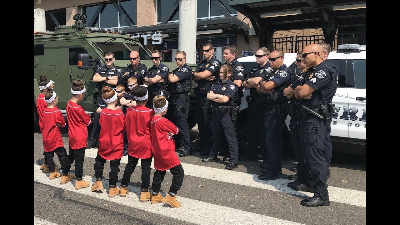 Too cute! Pierce County sheriff's deputies parody 'Cops' in dance