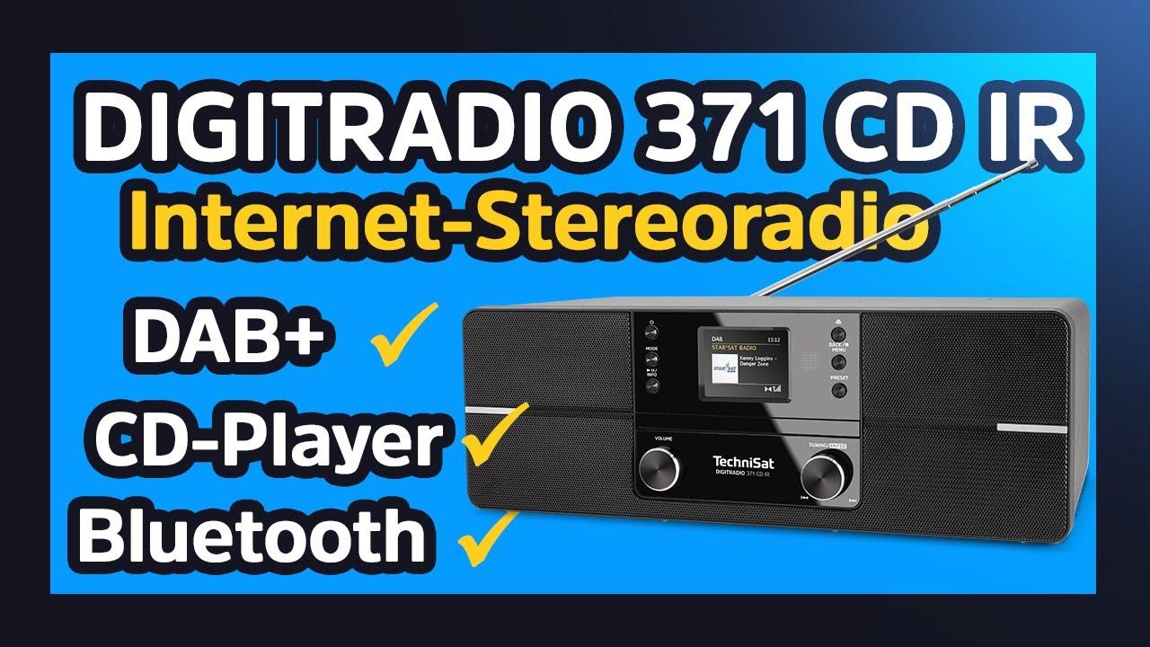 Video: DIGITRADIO 371 CD IR | DAB+/UKW/Internet-Stereoradio mit CD-Player und App-Steuerung | TechniSat