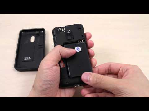 How to insert and remove the Micro SIM card on Nokia Lumia 620