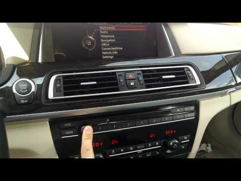 How to Reset F02 NBT (7 series BMW)