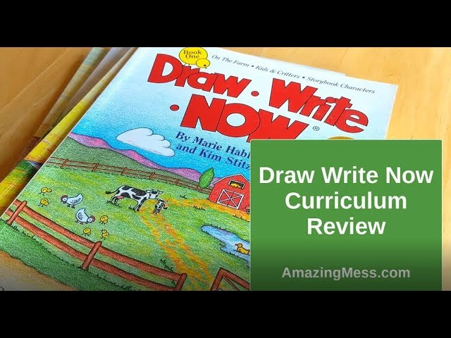 Draw Write Now Handwriting Curriculum Review ❤️ Our Top Homeschool Curriculum Reviews