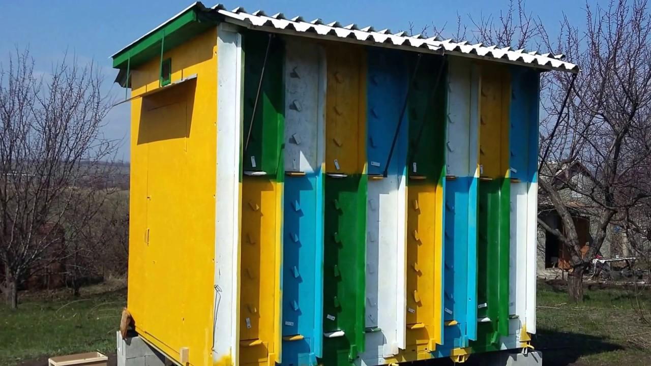 Кассетный пчелопавильон своими руками фото 162