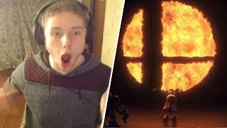 LIVE REACTION - SUPER SMASH BROS FOR NINTENDO SWITCH REVEAL