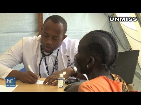 Displaced S. Sudanese get healthcare from IOM clinic